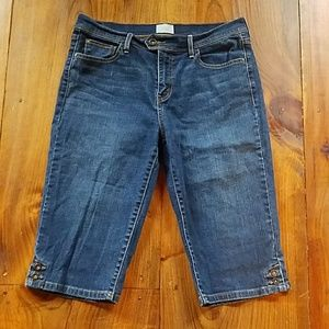 Levi's cropped Skimmer Jeans